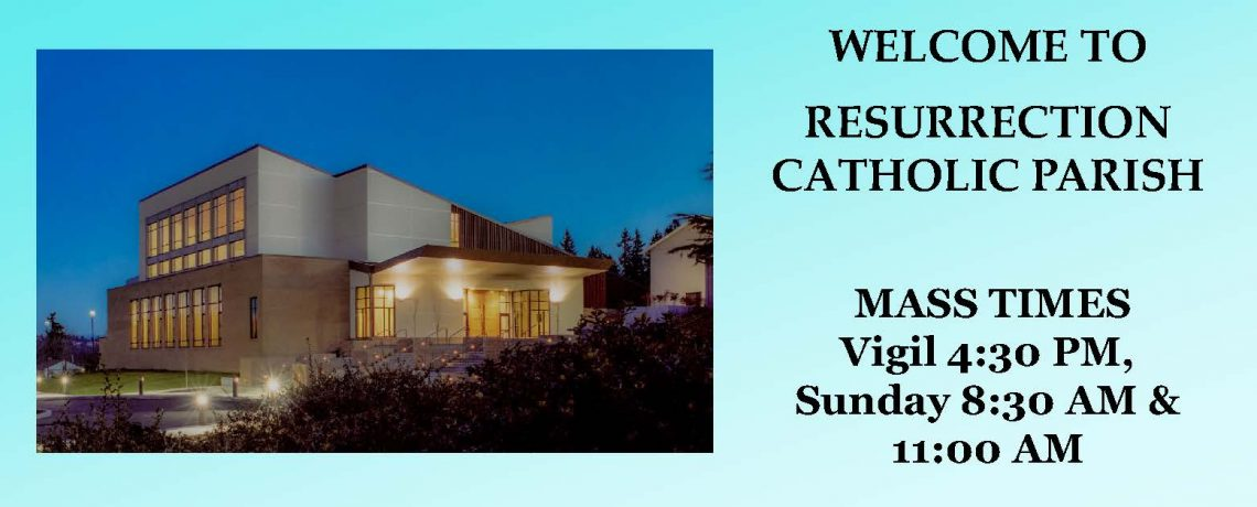 Resurrection Mass times
